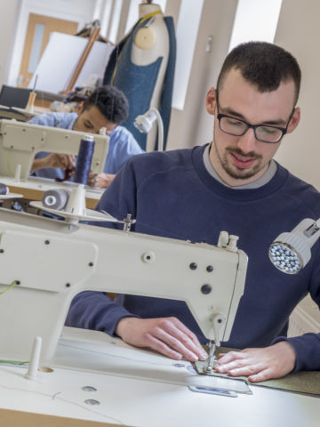 Practical Skills Training for the Next Generation of Bespoke Tailors